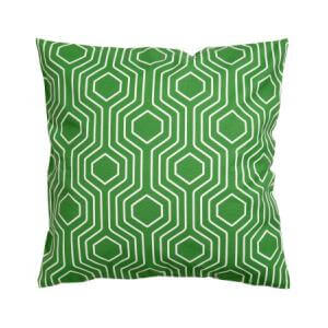 Bicolor stripped cushion cover