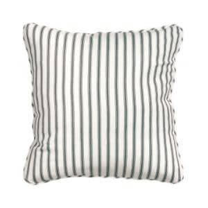 Stripped cushion cover
